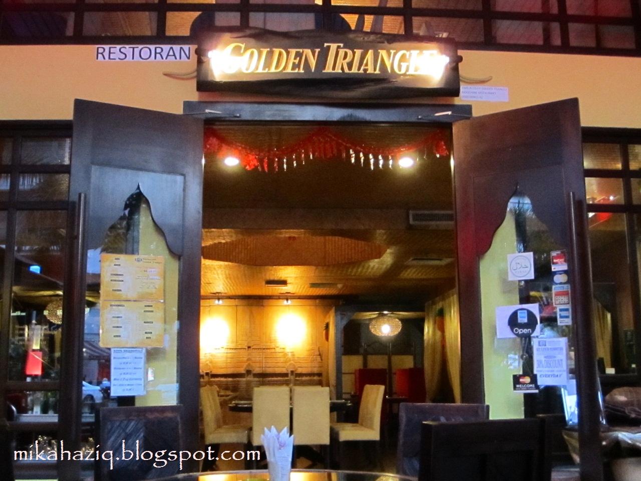 Mikahaziq thai restaurant in kuala lumpur golden