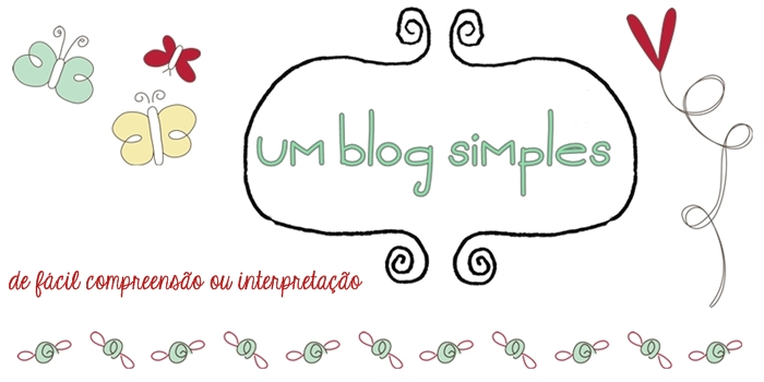 Um blog simples