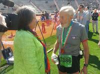 Aos 91 anos, o vegano Mike Fremont obtém novo recorde em meia maratona