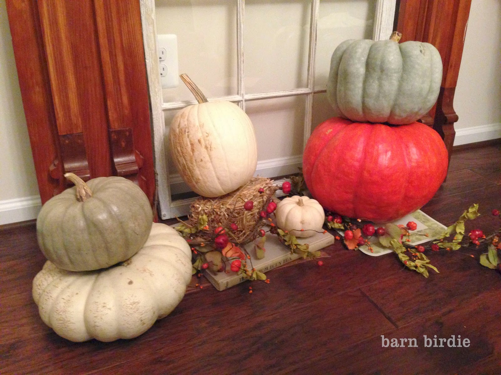 barn birdie | Upcycle your pumpkins for the Holidays!
