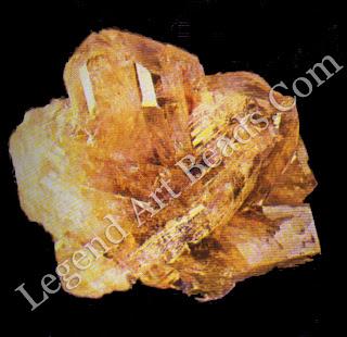 Twinned crystal of true chrysoberyl from Brazil.