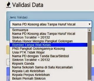 gambar Validasi Data Sekolah Di Website Dapodikdas