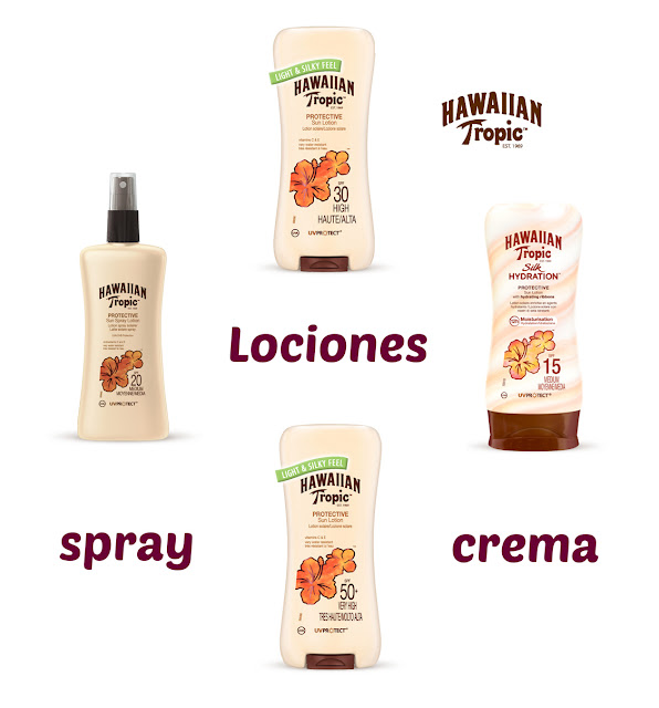 Lociones Hawaiian Tropic