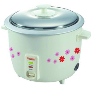 Flipkart : Buy Rice Cooker Prestige PRAO 1.8 Ltr Cooking and Steaming Feature Rs. 1,299 only