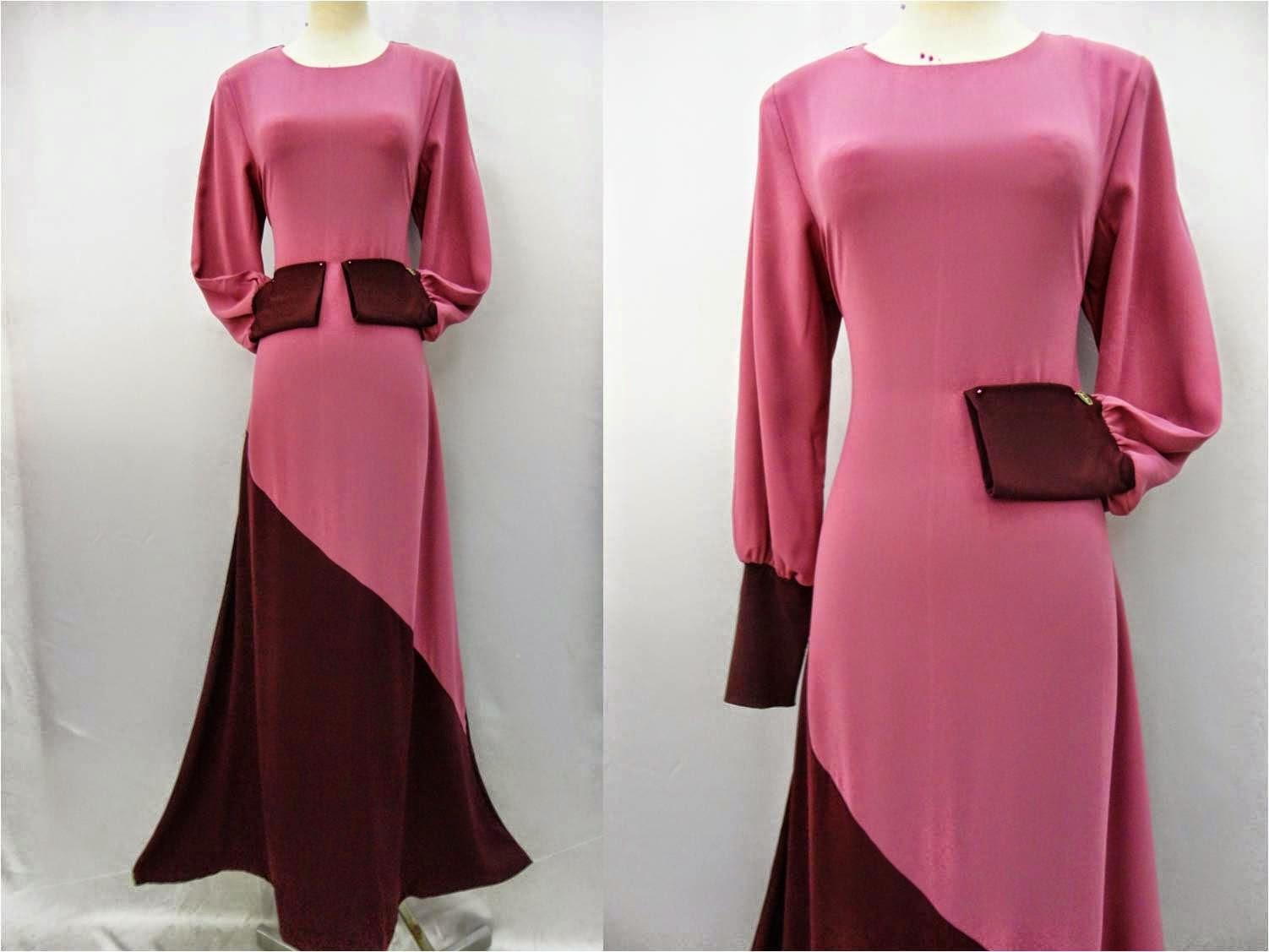 DRESS KEMBANG FUSAN SIZE 38 TO 48