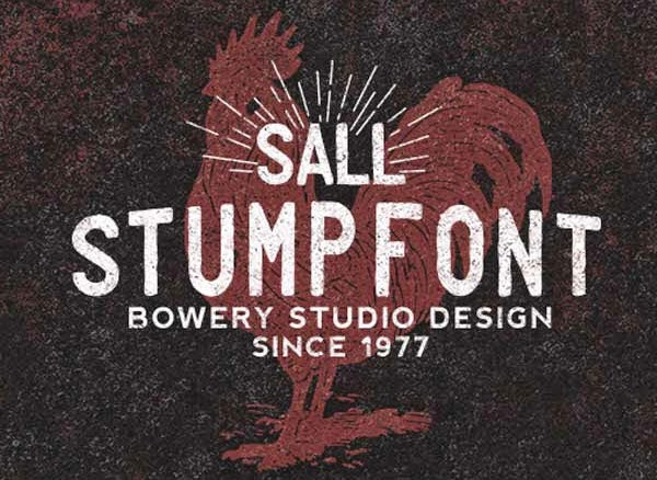 So brush Font family