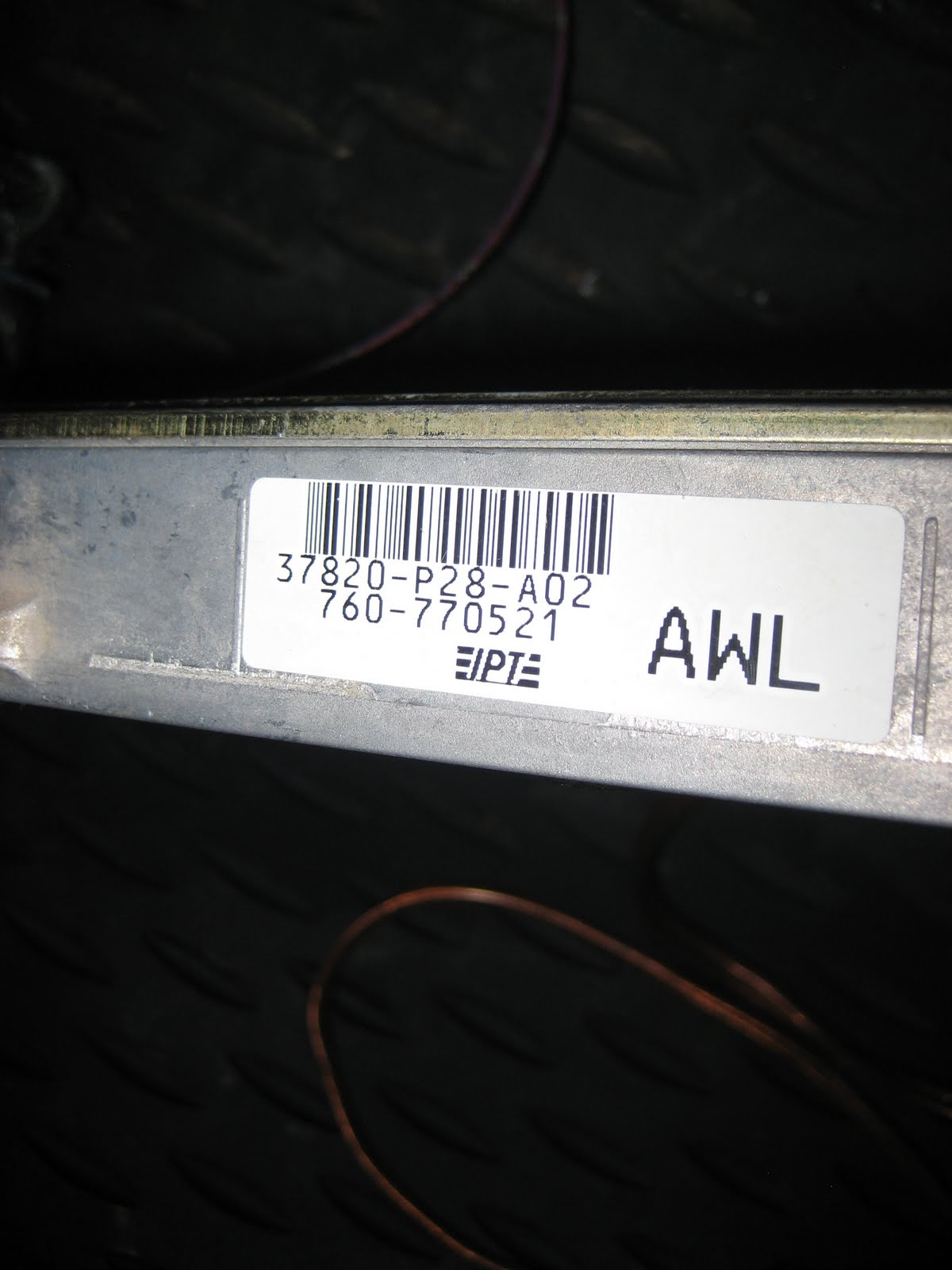 Socketed P28 Ecu Honda P07 Wiring Diagram Find Great Deals On Ebay For In Engine Re Furbished Obd1 Vtec That Has Been Chipped This Can Be Used A P72