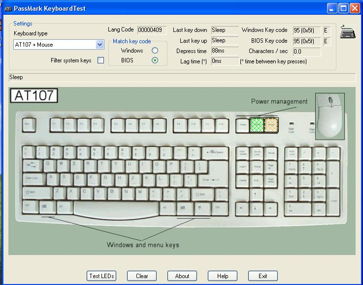 Keyboard Test Program H Ard Forum