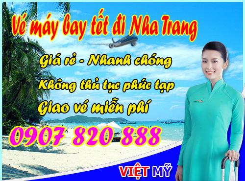 Ve may bay tet di Nha Trang