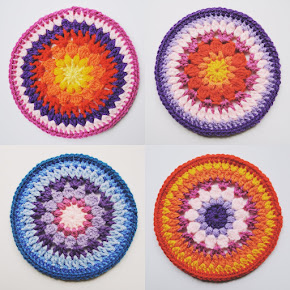 Sunburst Coaster Pattern