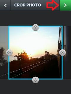 Cara Menggunakan Instagram Crop Foto Sebelum Upload