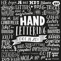 HANDLETTERING IS GAAF!!!