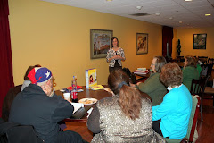 Guest Speaker Shannon Anderson - March 2012