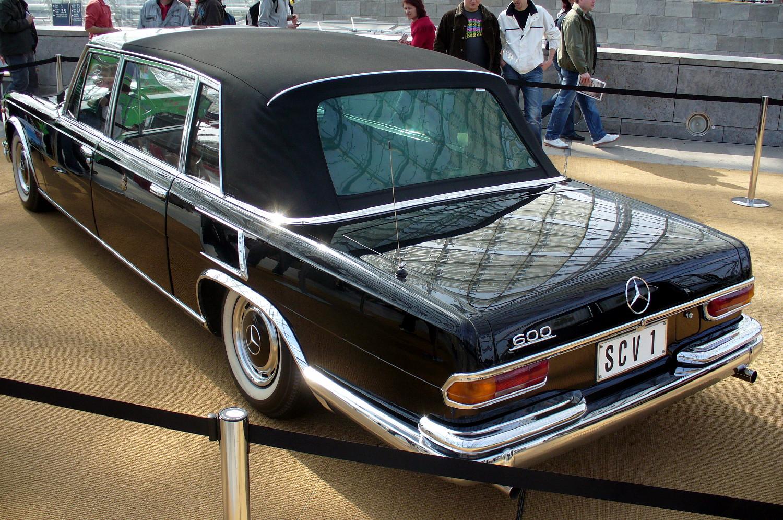 Coche cl sico mercedes benz 600 1963 for Mercedes benz c 600