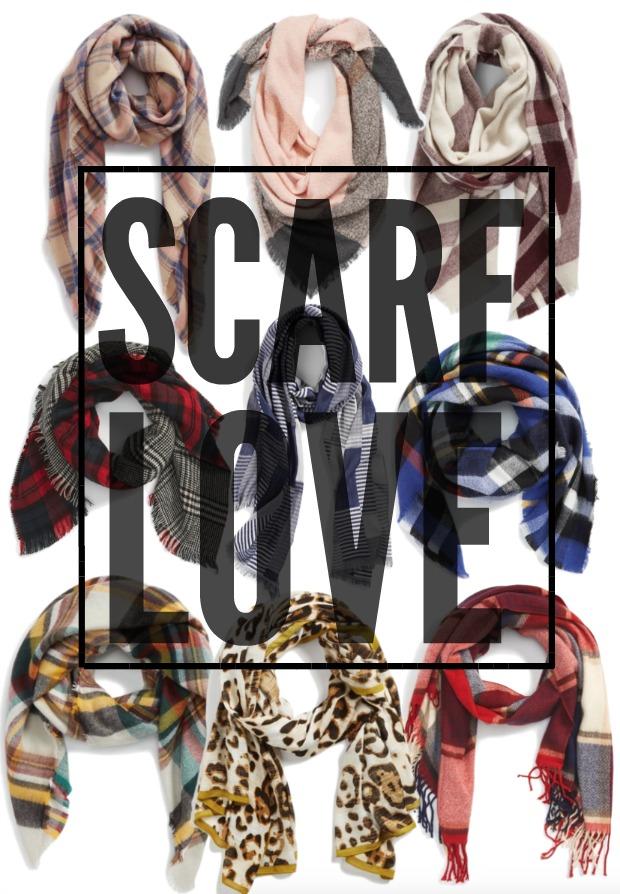 Fall Fashion - SCARF LOVE !!!