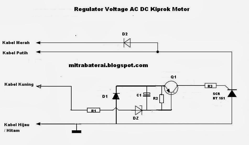 ac dc untuk semua motor rangkaian kiprok motor ac dc untuk semua motor