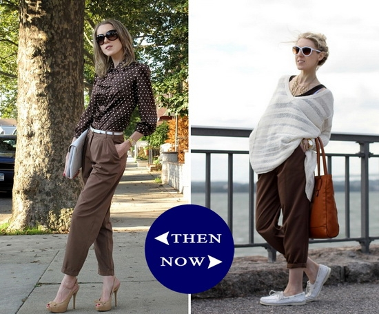 Asos Brown Pants Then And Now