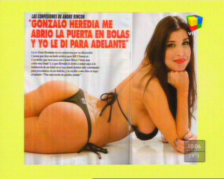 Andrea Rincon Estrella TV