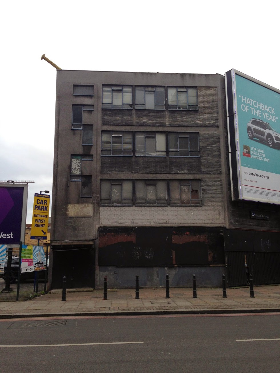 Abandonment and decay, Shoreditch, London