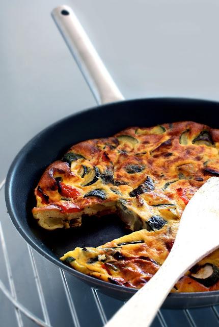 frittata verdure al forno