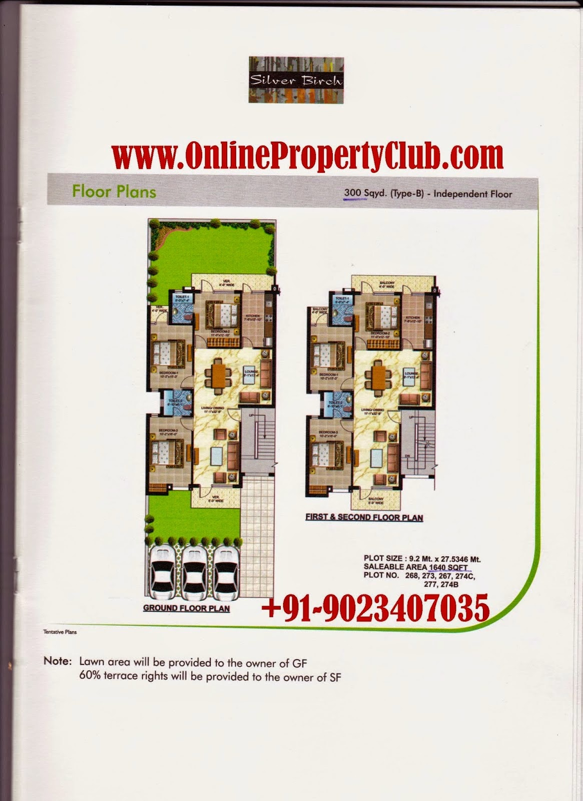 Omaxe Silver Birch 2-3-4-BHK Residential Flat New-Chandigarh