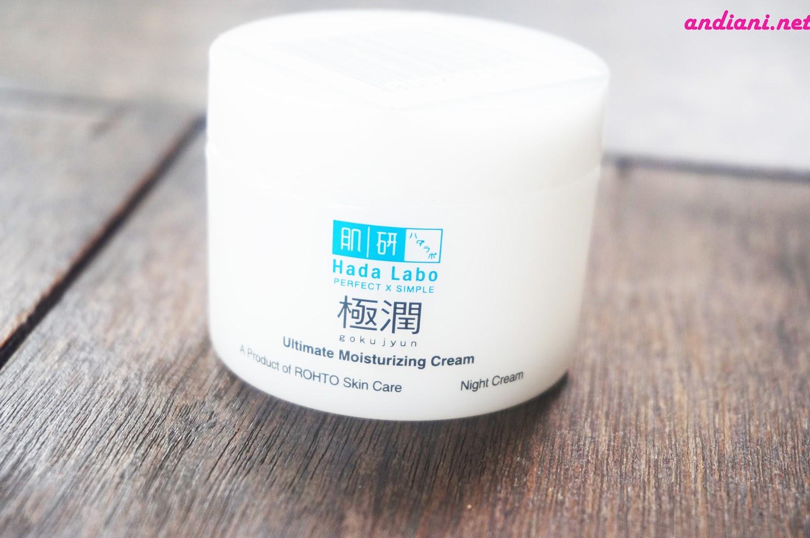 My Skincare Hadalabo Untuk Kulit Berminyak Andianis Beauty Hada Labo Gokujyun Starter Pack Pelembab Ultimate Moisturizing Cream