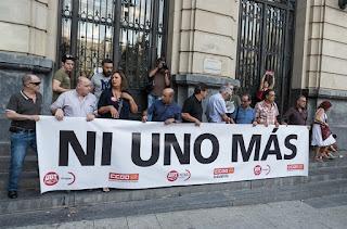 Homenaje a los trabajadores de la Pirotecnia Zaragozana