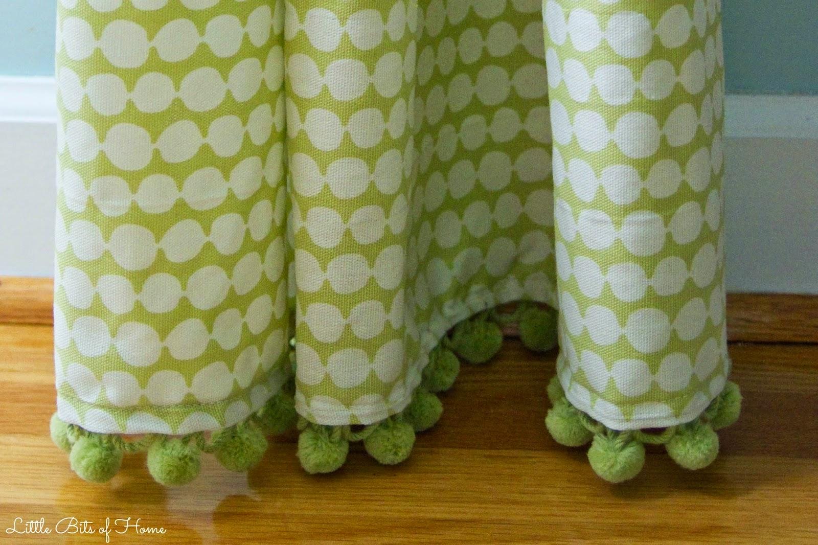 bits of home playroom progress curtains pillow