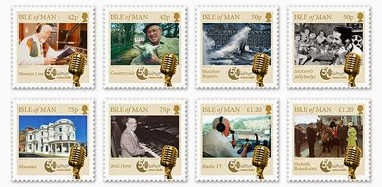 The 50th Anniversary of Manx Radio Presentation Pack- Isle of Man Post Office