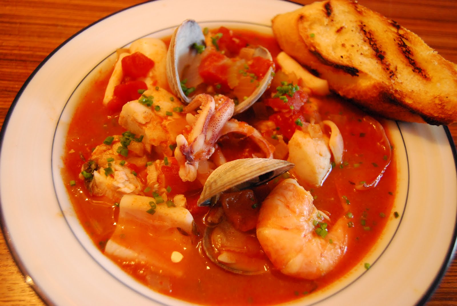 EAT Everyday: Cioppino with Clams, Cod, Shrimp and Squid