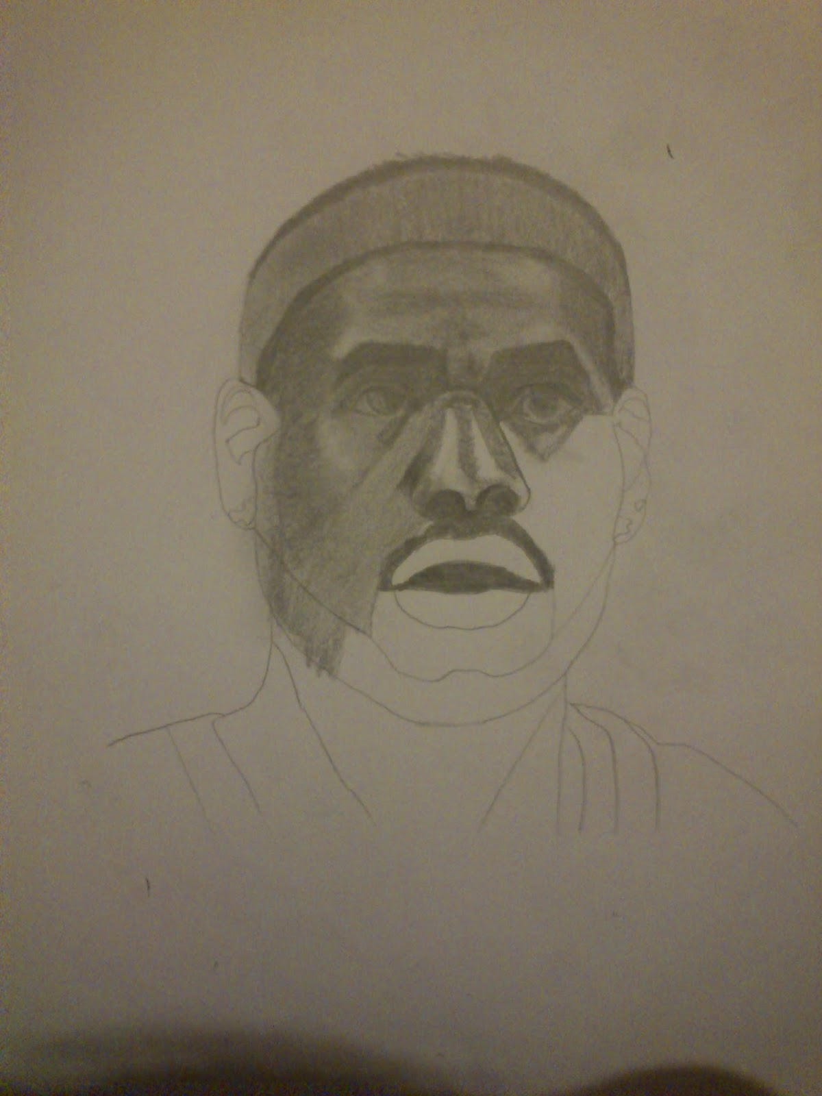 Lebron James Drawing Easy