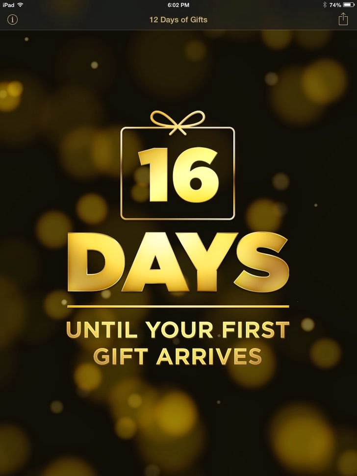 12 Days Of Gifts App iTunes App By iTunes - FreeApps.ws