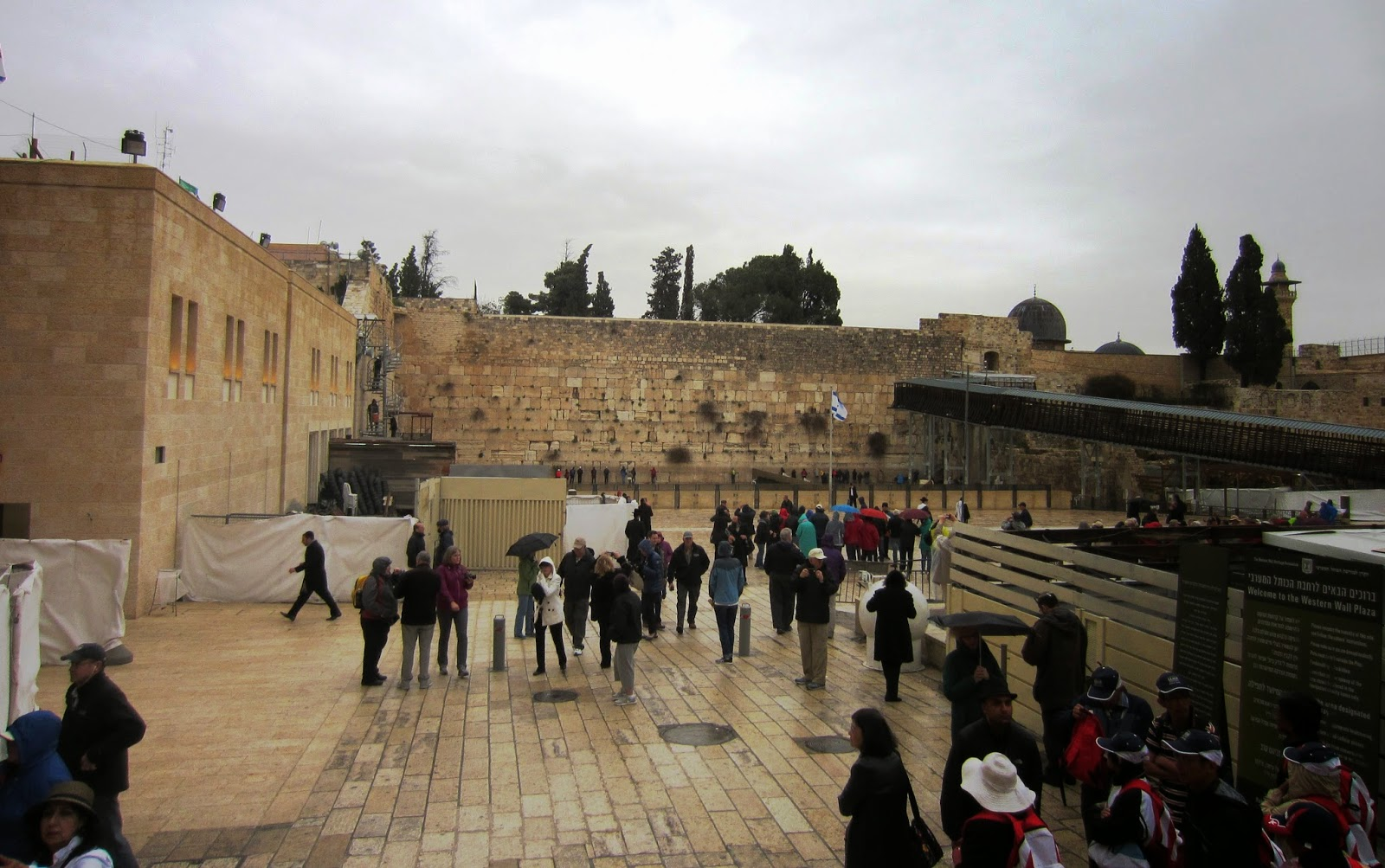 The Western Wall Plaza, Jerusalem / Souvenir Chronicles