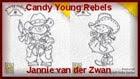Gewonnen candy Jannie