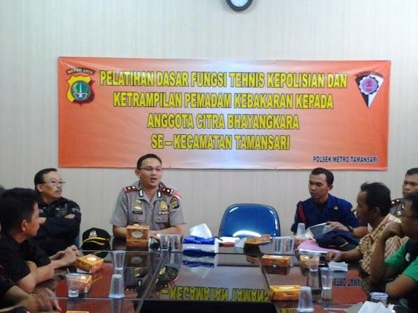 Wakapolsek Metro Tamansari, Jakarta Barat - Kompol Erick