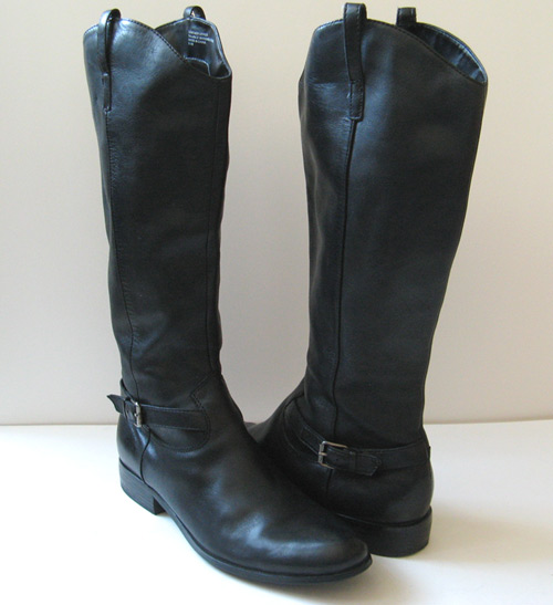 Unique Lucchese I4923 Amp I4924 Womens English Riding Boots Calf Leather Black