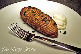 Roasted Fan Shaped Potatoes aka Hasselback Potatoes