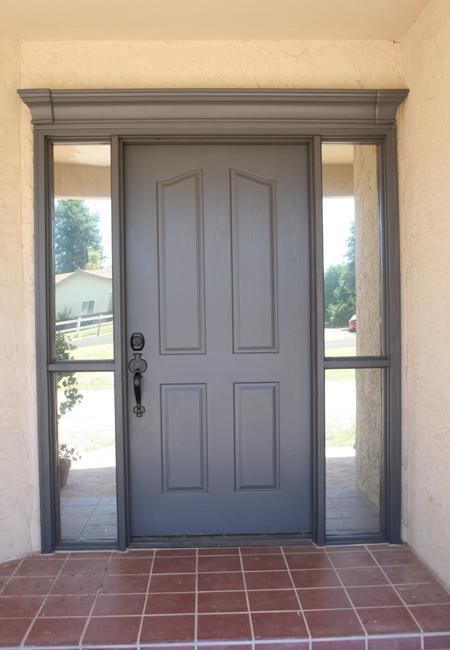Me and jilly front door miracle for Exterior door colors benjamin moore