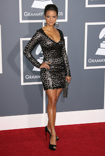 Eva LaRue at the Grammys
