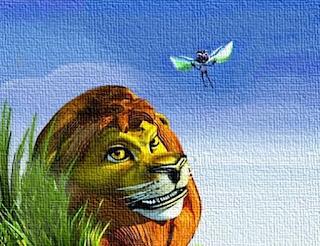 Il leone e la zanzara (Esopo)