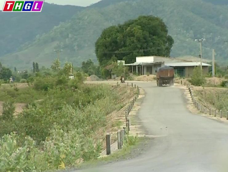 Gia Lai: Tiềm ẩn tai nạn giao thông trên tuyến đường Trường Sơn Đông qua địa bàn huyện Krông Pa