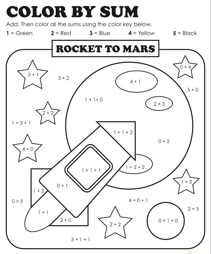 Worksheets Solar System Fun (page 5) - Pics about space