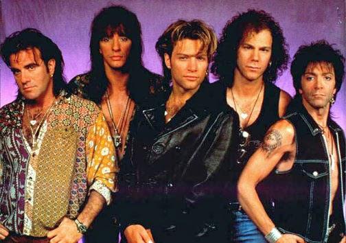 Formacion de Bon Jovi-Cross Road era