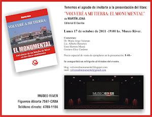 GRÁFICA DE LA INVITACIÓN A LA PRESENTACIÓN DEL LIBRO
