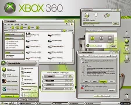 Xbox 360 Vista Theme