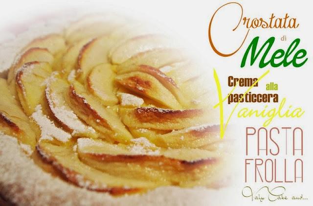 crostatine di mele alla vaniglia