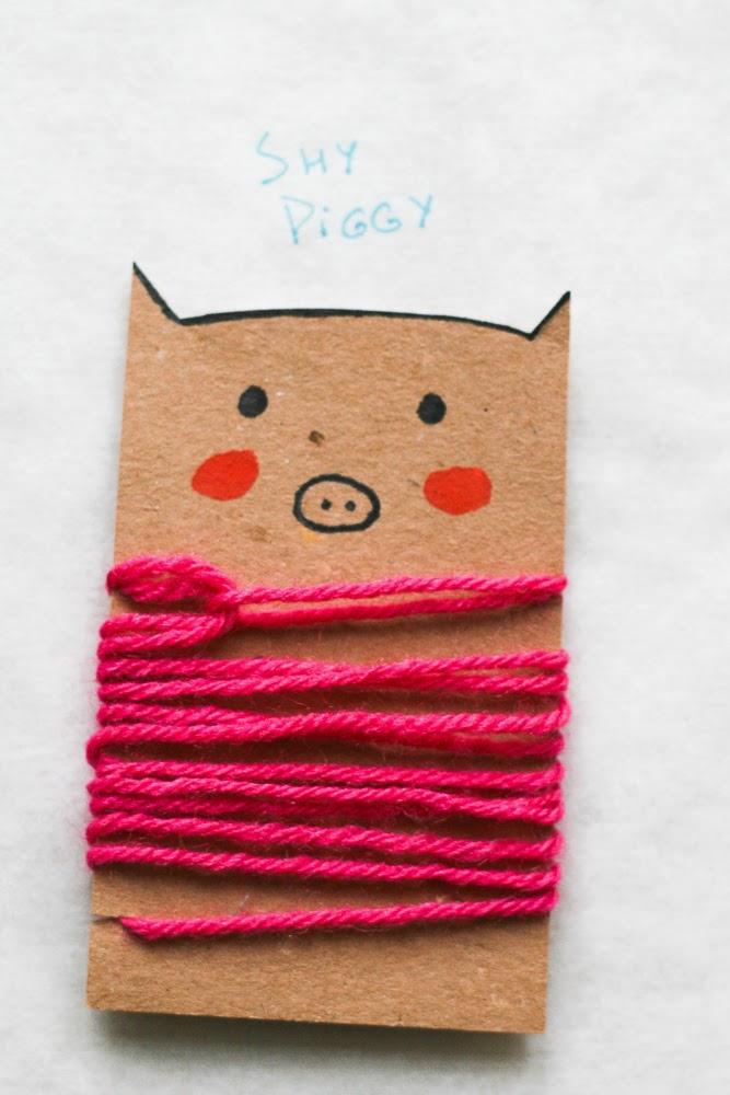 diy tutorial how to make easy animal thread holder by akwiinas