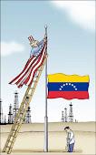 Fisgón:media asta en Venezuela