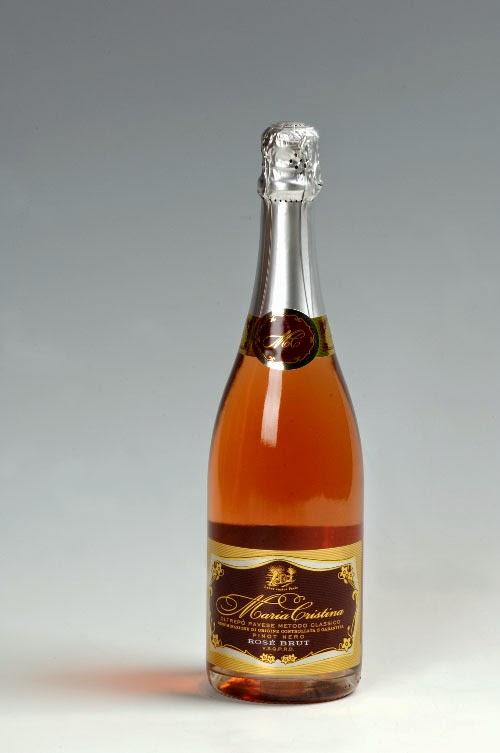 """Vino spumante metodo classico rosè """"Maria Cristina"""""""