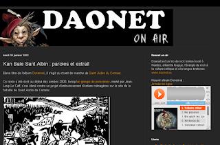 Kan bale Sant Albin - chant de marche de Saint Aubin du Cormier (35) Daonet Rock breton